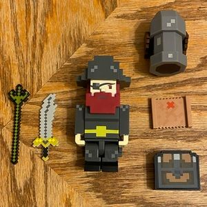Terraria Pirate Action Figure with Accessories
